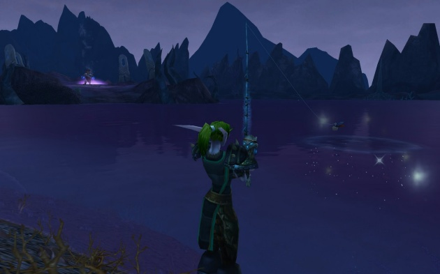 Fishing in Twilight Highlands